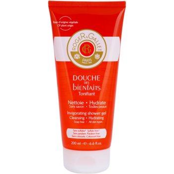 Roger & Gallet Bienfaits gel doccia effetto idratante (Invigorating Shower Gel) 200 ml