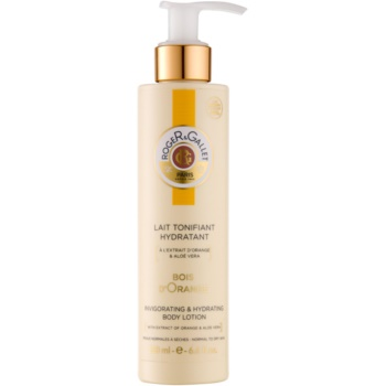 Roger & Gallet Bois d´ Orange latte idratante corpo per pelli normali e secche (Body Lotion 24 Hr Hydration With Orange Extract & Aloe Vera) 200 ml