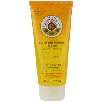 Roger & Gallet Bois d´ Orange gel doccia rinfrescante (Fresh Shower Gel – Invigorating) 200 ml