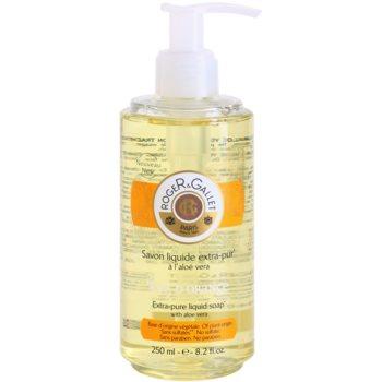 Roger & Gallet Bois d´ Orange sapone liquido con aloe vera (Extra Pure Liquid Soap With Aloe Vera) 250 ml