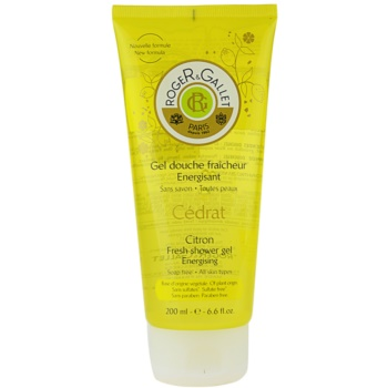 Roger & Gallet Cédrat gel doccia rinfrescante (Fresh Shower Gel – Energising) 200 ml