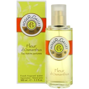 Roger & Gallet Fleur d´ Osmanthus acqua rinfrescante per donna 100 ml