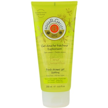 Roger & Gallet Fleur d´ Osmanthus gel doccia rinfrescante (Fresh Shower Gel - Uplifting) 200 ml
