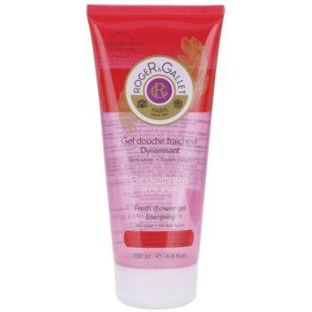 Roger & Gallet Gingembre Rouge gel doccia rinfrescante (Fresh Shower Gel - Energizing) 200 ml