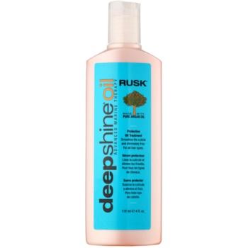 Rusk Deep Shine Oil trattamento all'olio di argan per tutti i tipi di capelli 118 ml