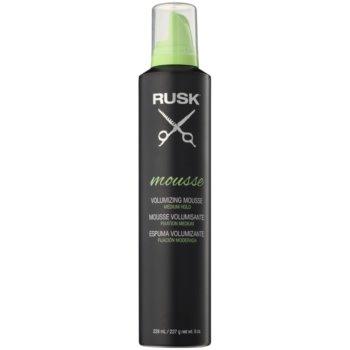 Rusk Styling fissante in mousse volumizzante e modellante (Medium Hold) 228 ml