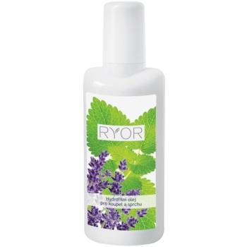RYOR Face & Body Care olio idrofilo per bagno e doccia (Lavender Oil, Melissa Oli) 200 ml