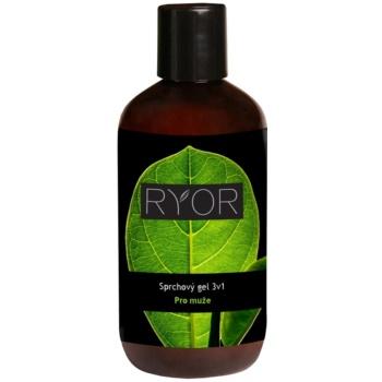 RYOR Men gel doccia 3 in 1 250 ml
