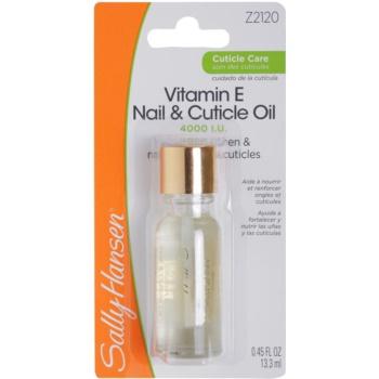 Sally Hansen Cuticle Care olio nutriente per unghie e cuticole Vitamin E Nail and Cuticle Oil 13,3 ml