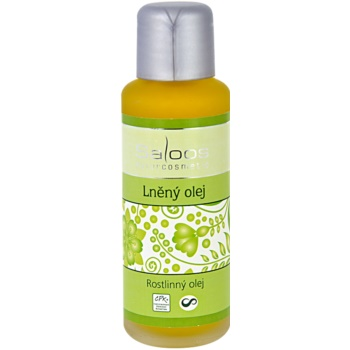 Saloos Vegetable Oil olio di lino (Vegetable Oil – Linseed) 50 ml