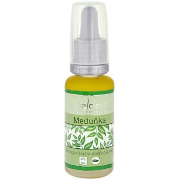 Saloos Bio Regenerative Facial Oil olio rigenerante per il viso melissa  20 ml