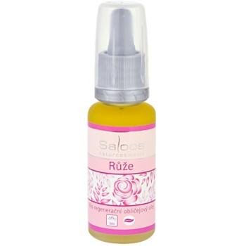 Saloos Bio Regenerative Facial Oil olio rigenerante per il viso rosa  20 ml