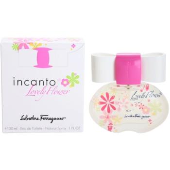 Salvatore Ferragamo Incanto Lovely Flower eau de toilette per donna 30 ml