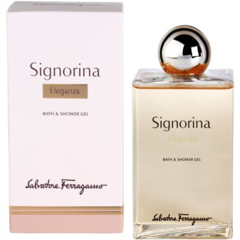Salvatore Ferragamo Signorina Eleganza gel doccia per donna 200 ml