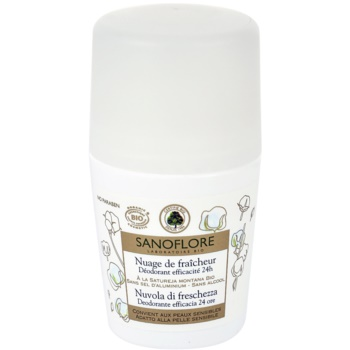 Sanoflore Déodorant deodorante roll-on 24 ore (Deo Roll-on) 50 ml