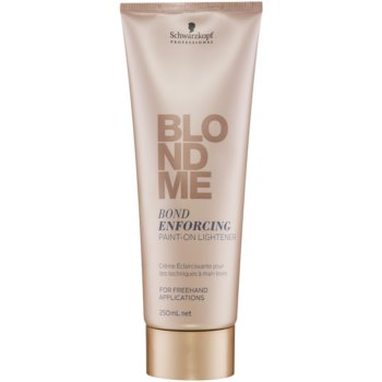Schwarzkopf Professional Blondme crema decolorante senza ammoniaca per capelli biondi (Bond Enforcing Paint-On-Lightener) 250 ml