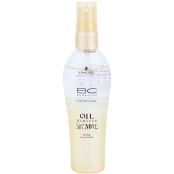 Schwarzkopf Professional BC Bonacure Oil Miracle Marula Oil spray all'olio per capelli delicati e normali 100 ml