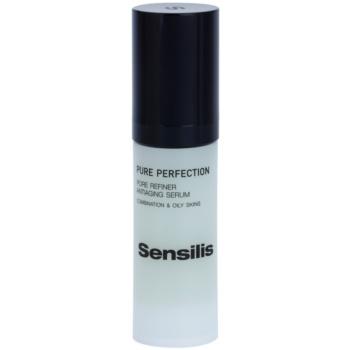Sensilis Pure Perfection siero antirughe per lisciare la pelle e ridurre i pori (Pore Refiner Antiaging Serum) 30 ml