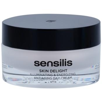Sensilis Skin Delight crema illuminante e rivitalizzante antirughe SPF 15 (Illuminating & Energizing Antiaging Day Cream) 50 ml