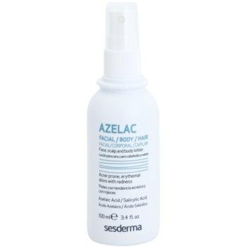 Sesderma Azelac lozione tonica per il trattamento delle pelli grasse e acneiche (Azelaic Acid, Salicylic Acid) 100 ml