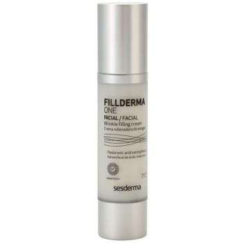 Sesderma Fillderma One crema filler e rassodante per rughe profonde con acido ialuronico (Nanotech) 50 ml