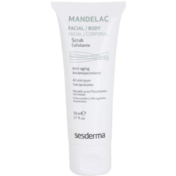 Sesderma Mandelac scrub idratante delicato per pelli sensibili (Mandelic Acid) 50 ml