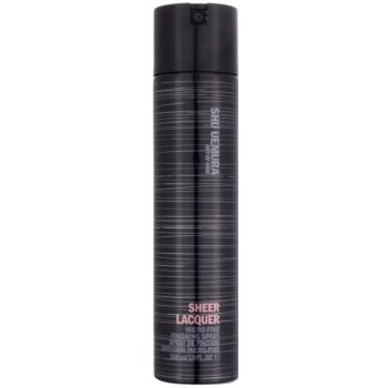 Shu Uemura Sheer Lacquer lacca per capelli per capelli mossi (Finishing Spray) 300 ml
