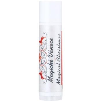 Soaphoria Magical Christmas balsamo nutriente labbra (100% Organic, Natural Oils, Beeswax, Vitamin E) 5 g