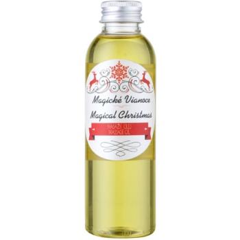Soaphoria Magical Christmas olio organico per massaggi effetto rigenerante (Deeply Hydrating, Jojoba Oil, Sesame Oil, Sunflower Oil, Olive Oil) 150 ml