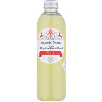 Soaphoria Magical Christmas gel doccia organico per pelli delicate e lisce (Coconut Oil, Jojoba Oil, Essential Oils) 250 ml