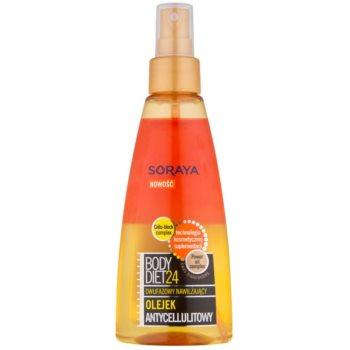 Soraya Body Diet 24 olio idratante bifasico anticellulite (Cellu-block Complex, Power Oil Complex) 150 ml