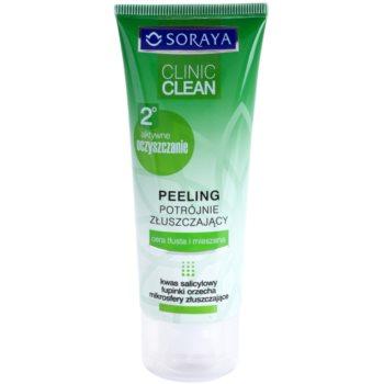 Soraya Clinic Clean scrub detergente per una pelle splendente 75 ml