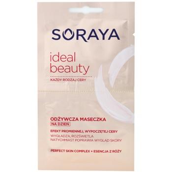 Soraya Ideal Beauty maschera nutriente per una pelle splendente (Perfect Skin Complex and Essence of Roses) 2 x 5 ml