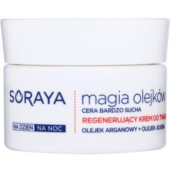 Soraya Magic Oils crema rigenerante per pelli molto secche (Argan and Macadamia Oils) 50 ml