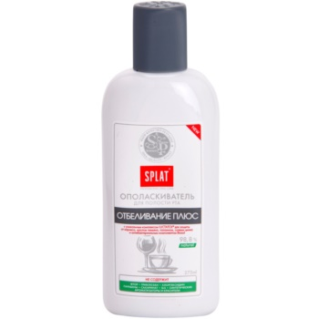 Splat Professional White Plus collutorio per uno sbiancamento delicato e la protezione dello smalto (Safe Whitening and Enamel Protection) 275 ml