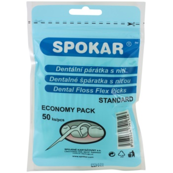 Spokar Dental Care stuzzicadenti con filo interdentale 50 pz