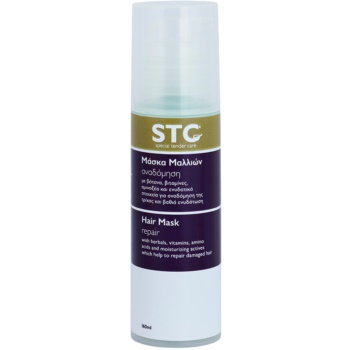 STC Hair maschera rigenerante per capelli rovinati (With Herbals, Vitamins and Amino Acids) 160 ml