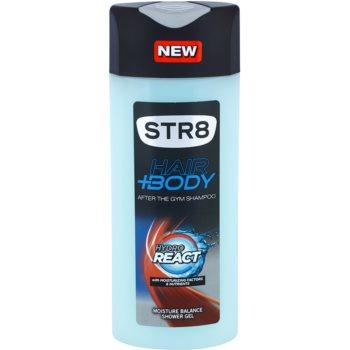 STR8 Hydro React gel doccia per uomo 400 ml