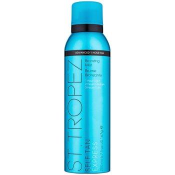 St.Tropez Self Tan Express spray autoabbronzante asciugatura rapida per un'abbronzatura graduale (1 Hour Tan Bronzing Mist) 200 ml