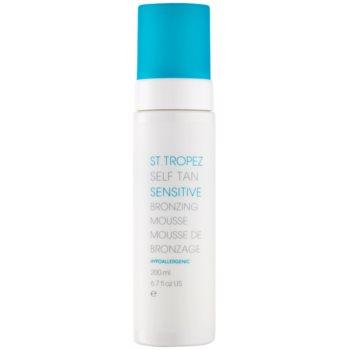 St.Tropez Self Tan Sensitive mousse autoabbronzante per il corpo (Hypoallergenic) 200 ml