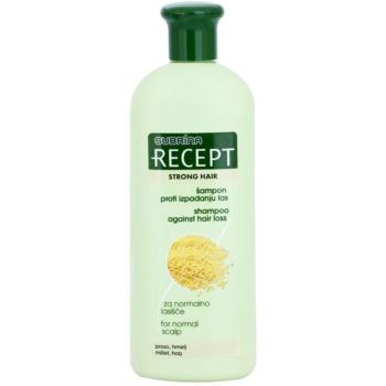 Subrina Professional Recept Strong Hair shampoo anti-caduta dei capelli Millet & Hop 400 ml