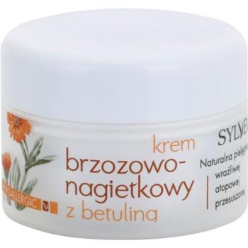 Sylveco Face Care crema viso alla calendula per pelli sensibili e irritate Birch - Calendula of Betulinic (Hypoallergenic) 50 ml