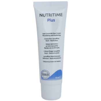 Synchroline Nutritime Plus crema nutriente e idratante con ceramidi (Nourishing and Hydrating; Lipo Ceramide Formula; with Vitamin E and Hyaluronic Acid) 50 ml