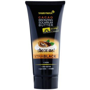 Tannymaxx Choco Me! XtraBlack burro abbronzante per solarium (Caco Bronzing Solarium Butter) 100 ml