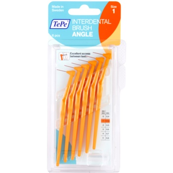 TePe Angle scovolini interdentali 6 pz Orange 0,45 mm