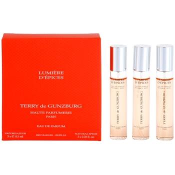 Terry de Gunzburg Lumiere d'Epices eau de parfum per donna 3 x 8,5 ml (3x ricariche con diffusore)