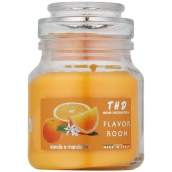 THD Candela Profumeta Arancia e Mandarino candela profumata 140 g