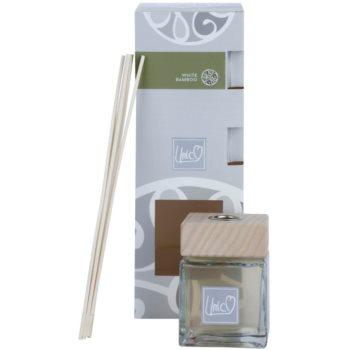 THD Unico Prestige White Bamboo diffusore di aromi con ricarica 200 ml