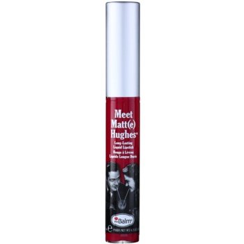 theBalm Meet Matt(e) Hughes rossetto liquido lunga tenuta colore Dedicated 7,4 ml