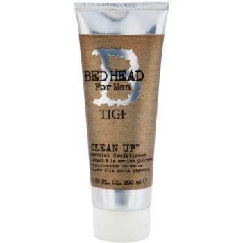 TIGI Bed Head B for Men balsamo detergente anti-caduta dei capelli (Peppermint Conditioner) 200 ml